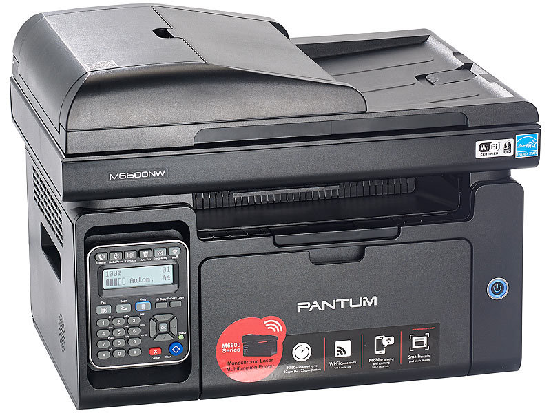 pantum faxger t professioneller 4in1 mono laserdrucker. Black Bedroom Furniture Sets. Home Design Ideas