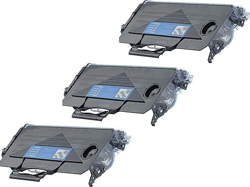 3x Toner kompatibel mit Brother TN-2120 black DCP-7030 HL-2170 2.600 S.
