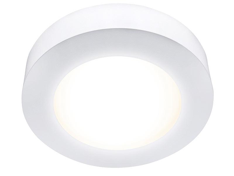mlight ein unterbau led panel rund dimmbar warmwei 11 watt 720 lumen. Black Bedroom Furniture Sets. Home Design Ideas