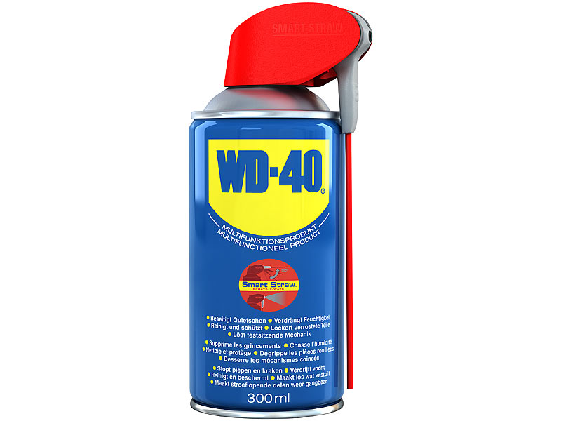 wd 40 multifunktions spray smart straw 300 ml. Black Bedroom Furniture Sets. Home Design Ideas