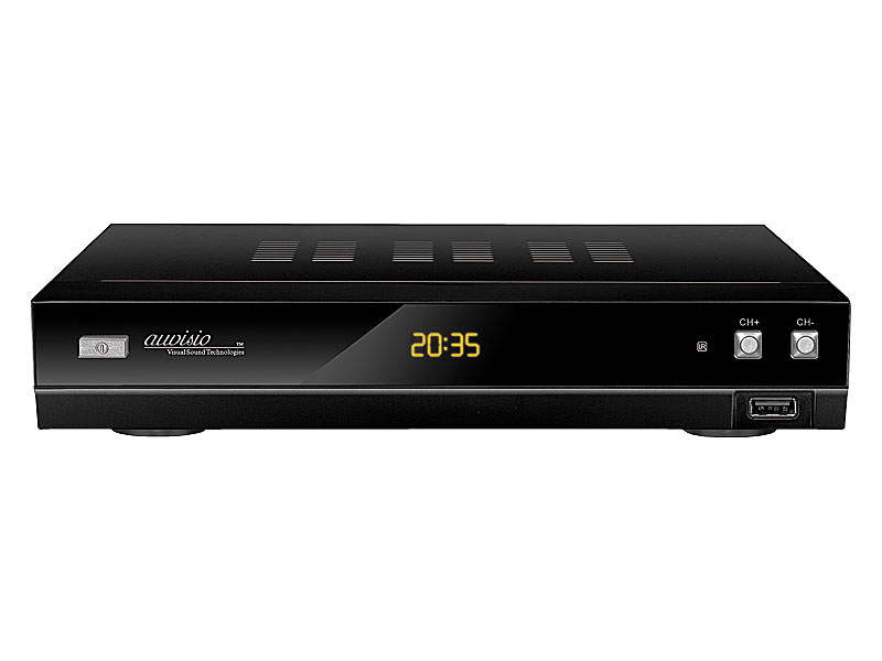 auvisio digitaler hd sat receiver mit usb player recorder optional. Black Bedroom Furniture Sets. Home Design Ideas