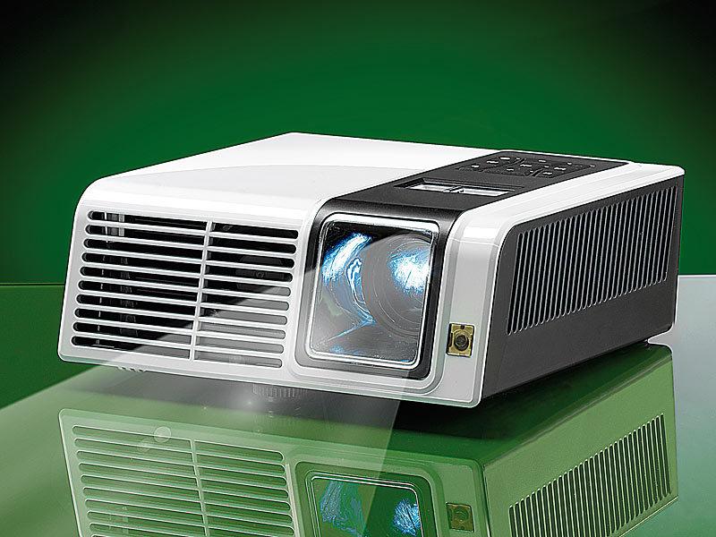scenelights dlp beamer dl 455m hdmi mit mediaplayer svga 200 lumen. Black Bedroom Furniture Sets. Home Design Ideas
