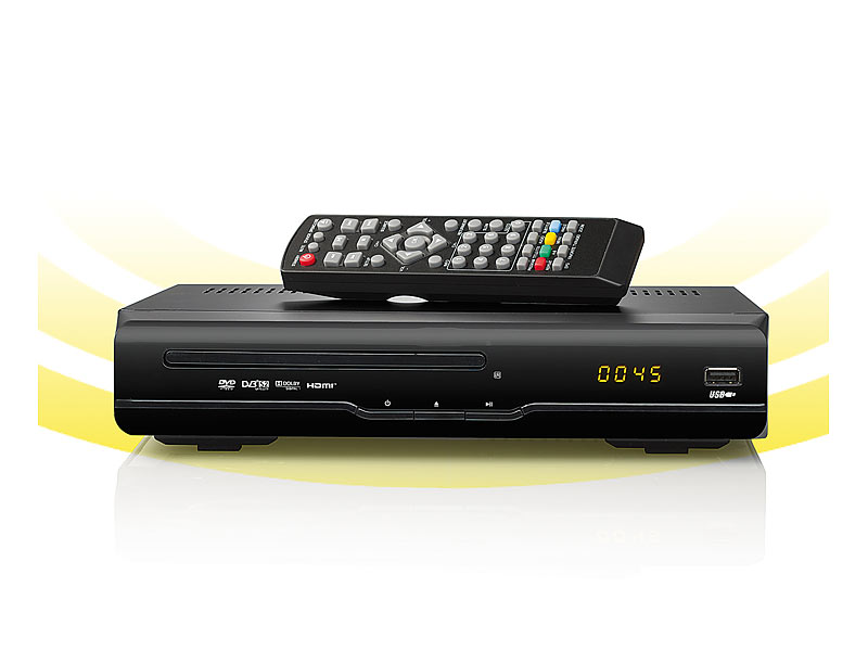 auvisio digitaler 3in1 hd sat receiver dsr 290 dvd m. Black Bedroom Furniture Sets. Home Design Ideas