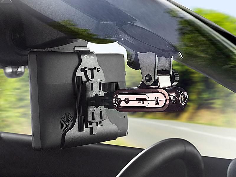 somikon dvr hd cockpitkamera mdv 2700 hd mit navi halterung. Black Bedroom Furniture Sets. Home Design Ideas