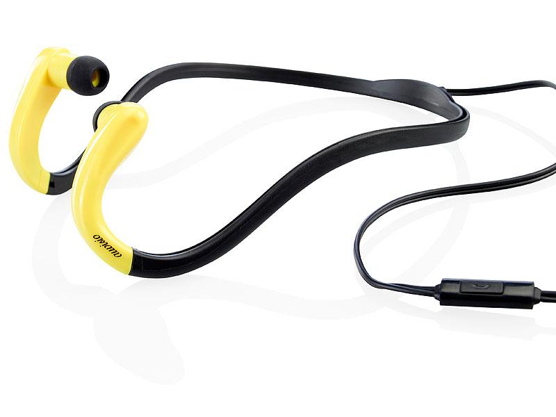 auvisio stereo sport headset bn mit nacken b gel. Black Bedroom Furniture Sets. Home Design Ideas