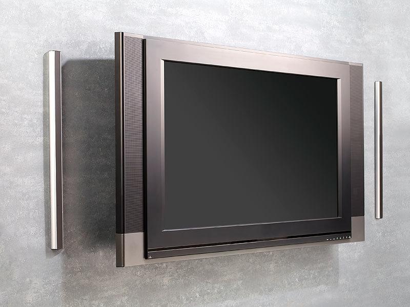 auvisio passive stereo stab lautsprecher ssl 650 p f r hifi tv. Black Bedroom Furniture Sets. Home Design Ideas