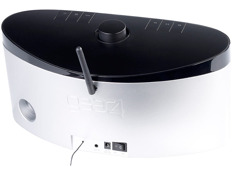 lautsprecher docks gear4 airzone series 1 lautsprecherdock mit airplay und ipod ipad dock. Black Bedroom Furniture Sets. Home Design Ideas