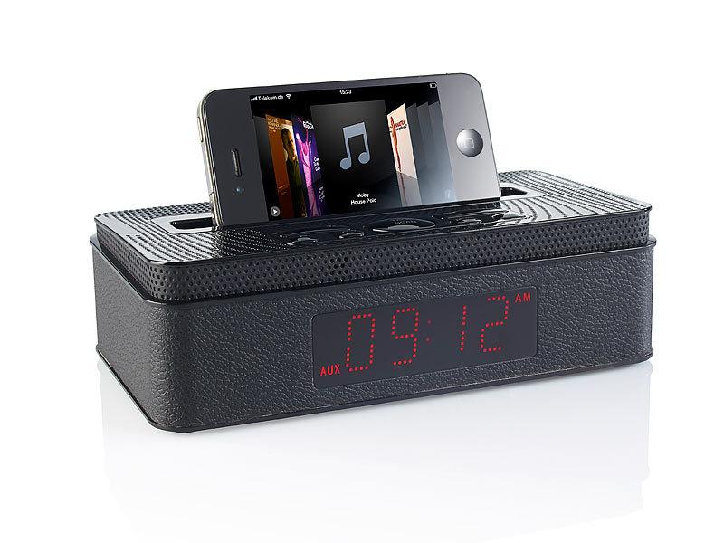 auvisio radio mps mit bluetooth wecker mp3 player. Black Bedroom Furniture Sets. Home Design Ideas