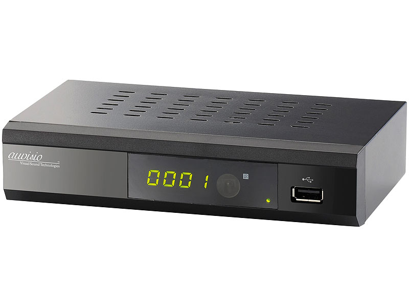 Digitaler pearl.tv DVB-C2-Kabelreceiver DCR-100.fhd, Full HD