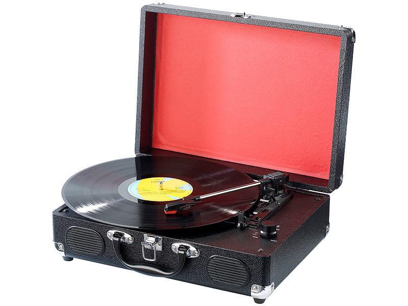 q sonic koffer plattenspieler und mp3 recorder upl. Black Bedroom Furniture Sets. Home Design Ideas