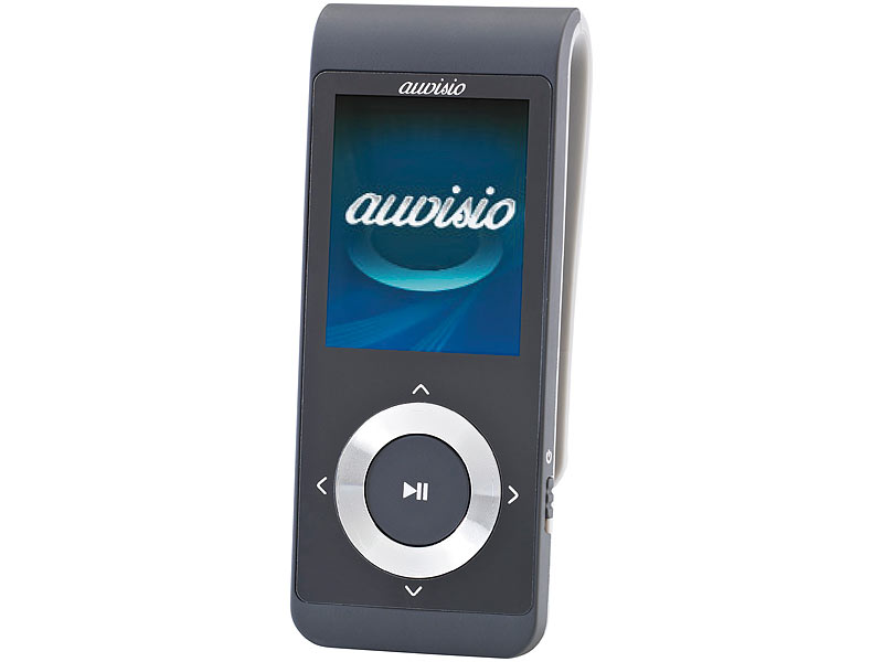 auvisio mp3 player mp4 player dmp v2 mit bluetooth. Black Bedroom Furniture Sets. Home Design Ideas