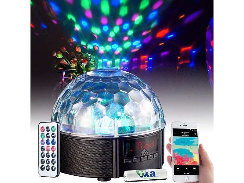 Auvisio Musikbox Mit Discokugel Mobile Discokugel Mit