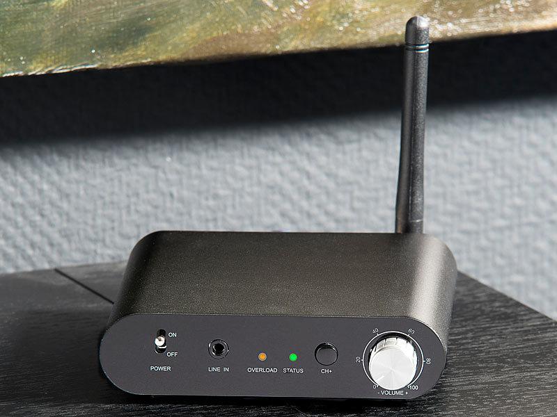 auvisio TV Funkübertragung: Digitales Audio-Funkübertragungssystem ...