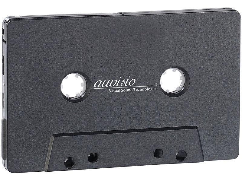 auvisio kassetten musik adapter mit bluetooth. Black Bedroom Furniture Sets. Home Design Ideas