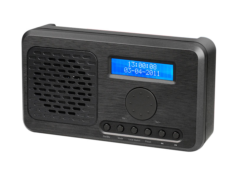 vr radio wlan internetradio mit mp3 streaming ukw tuner. Black Bedroom Furniture Sets. Home Design Ideas