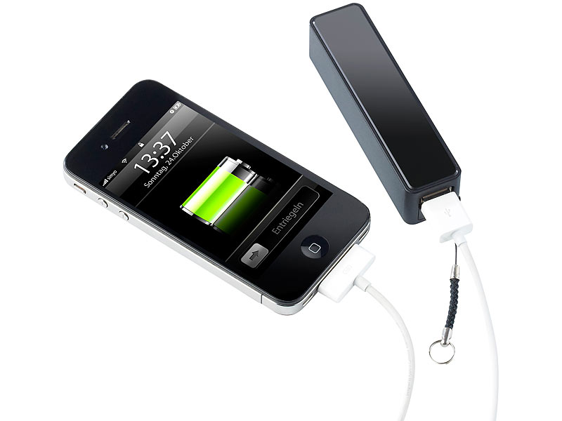 revolt powerbank f r iphone handy usb ger te mah. Black Bedroom Furniture Sets. Home Design Ideas
