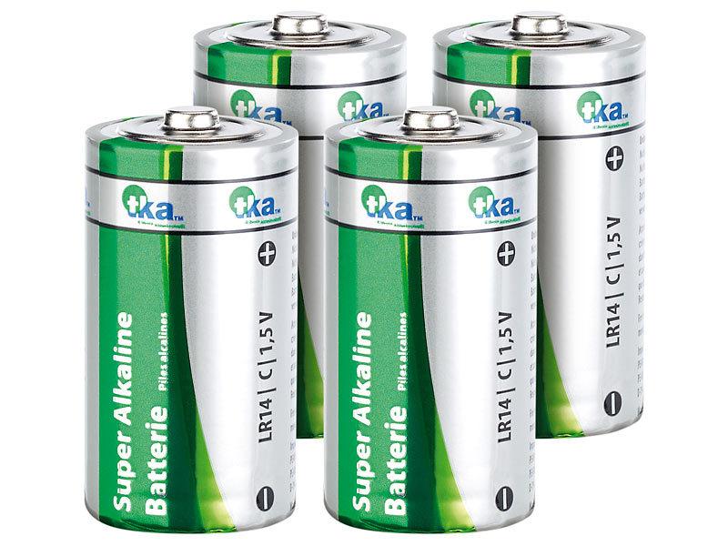 tka batterie lr14 sparpack alkaline batterien baby 1 5v typ c im 4er pack batterien alkalische. Black Bedroom Furniture Sets. Home Design Ideas