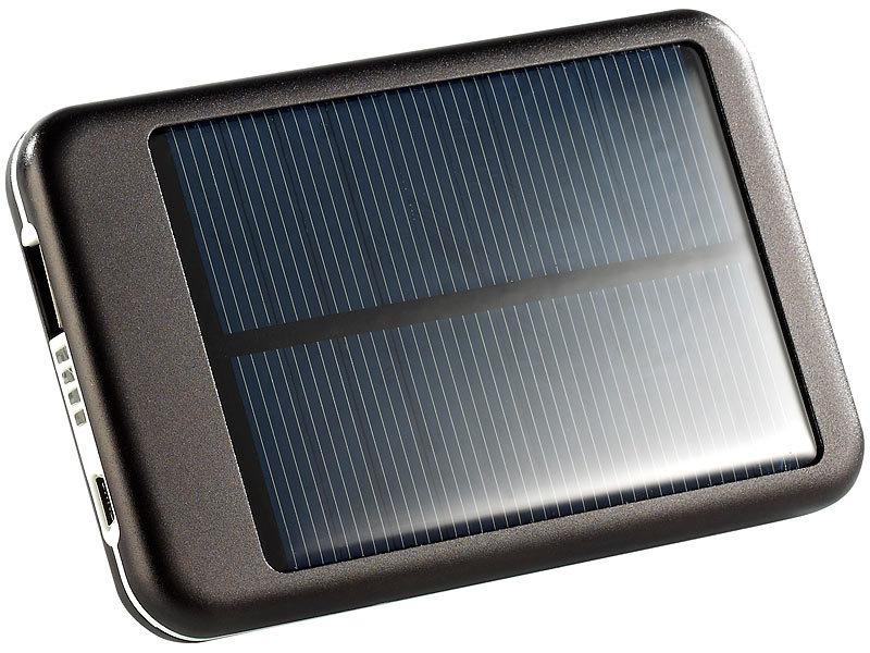 revolt solar powerbank mit 4400 mah f r ipad iphone navi. Black Bedroom Furniture Sets. Home Design Ideas