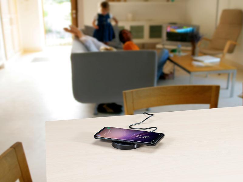 callstel induktion laden induktions ladestation und receiver pad f r galaxy s5 qi kompatibel. Black Bedroom Furniture Sets. Home Design Ideas