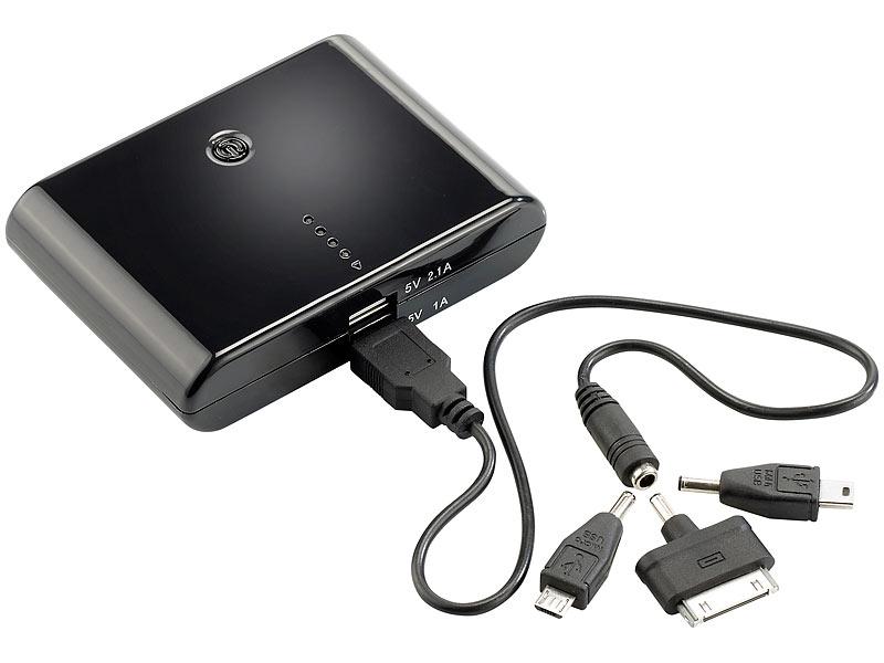 revolt powerbank f r tablet powerbank mit mah f r. Black Bedroom Furniture Sets. Home Design Ideas