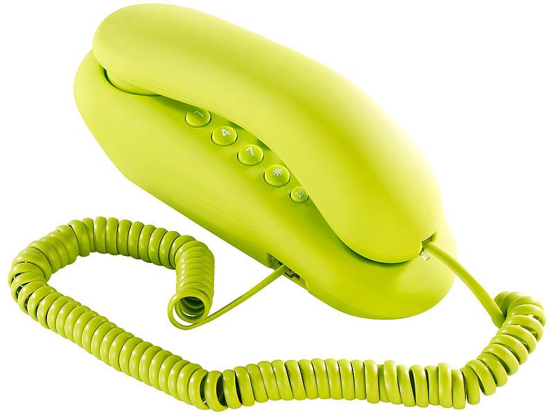 Simvalley kabelgebundenes festnetz telefon grun for Telefongespr che aufzeichnen festnetz