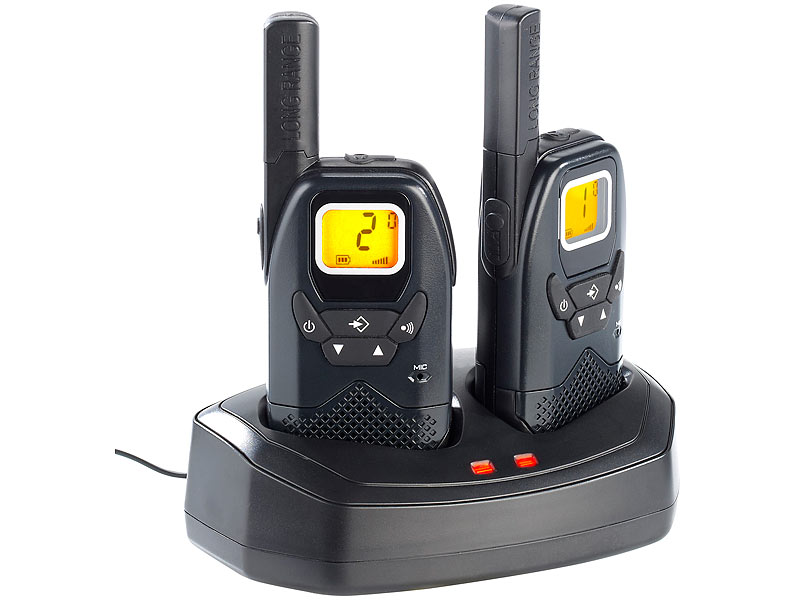 Set de talkie-walkies professionnels WT-100 - jusqu