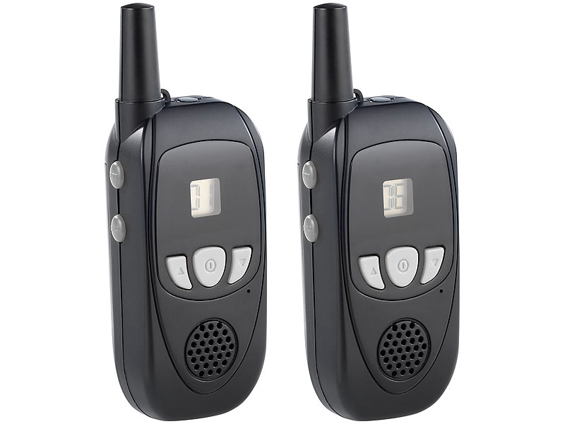 pearl walkie talkie set pmr mit bis zu 3 km reichweite. Black Bedroom Furniture Sets. Home Design Ideas