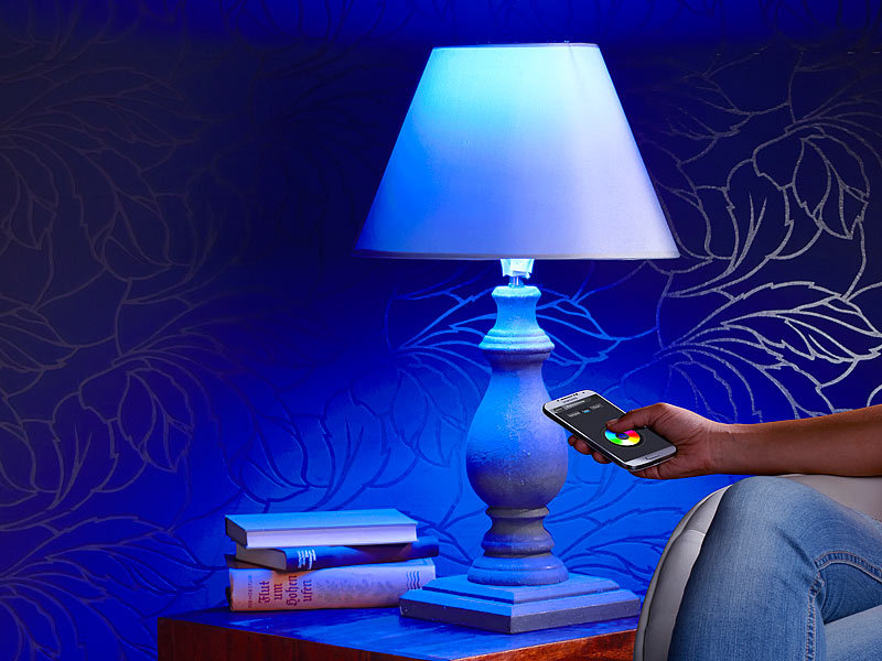 CASAcontrol WLAN LED Lampe: WiFi-Beleuchtungs-System \