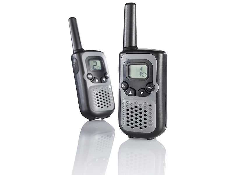 pearl walkie talkie set wt 30 bis 3 km reichweite. Black Bedroom Furniture Sets. Home Design Ideas