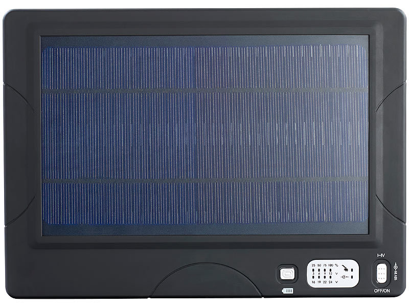 revolt xxl solar powerbank f r notebooks handys. Black Bedroom Furniture Sets. Home Design Ideas