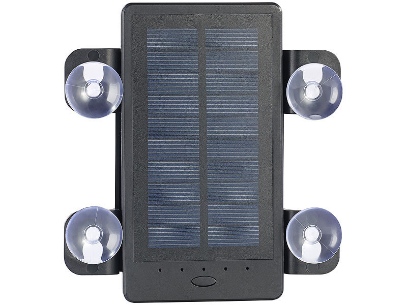 revolt auto solar powerbank pb 20 s mah inklusive. Black Bedroom Furniture Sets. Home Design Ideas