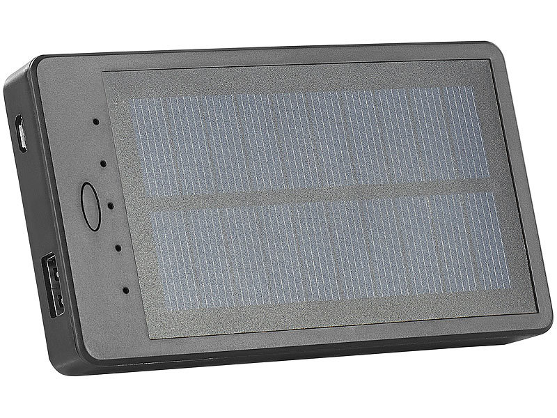 revolt auto solar powerbank pb 20 s mah inklusive scheiben halterung. Black Bedroom Furniture Sets. Home Design Ideas
