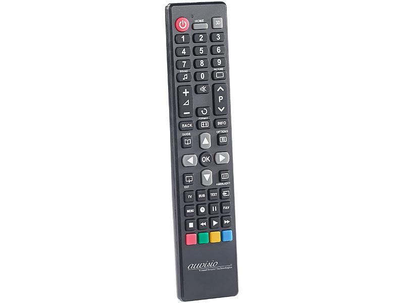 Auvisio Fernbedienungen Tvs Ersatz Fernbedienung Für Tv Geräte Von