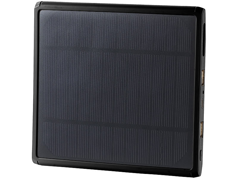 revolt xxl solar powerbank pb 150 s mit mah 4 5 w. Black Bedroom Furniture Sets. Home Design Ideas