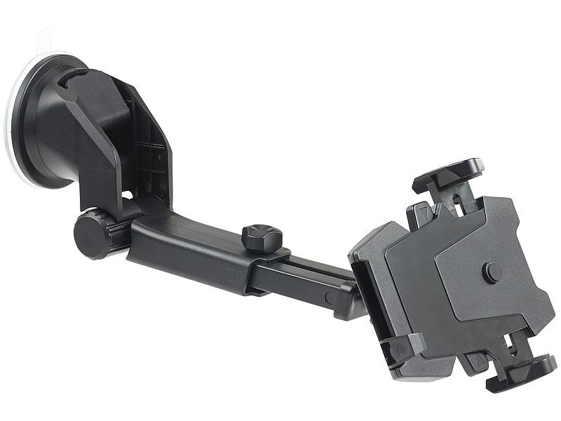callstel kfz smartphone armaturenbrett halterung 360 teleskop one touch. Black Bedroom Furniture Sets. Home Design Ideas
