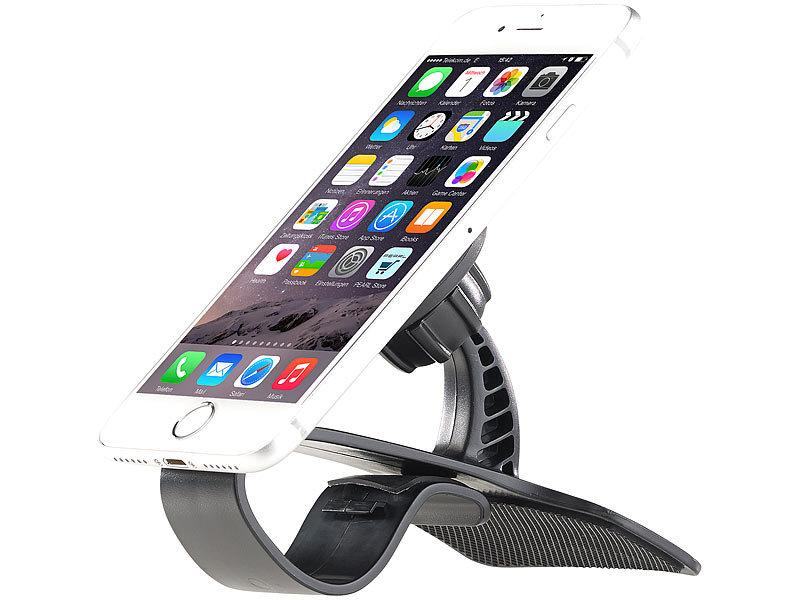 lescars kfz handyhalter universal smartphone magnet. Black Bedroom Furniture Sets. Home Design Ideas