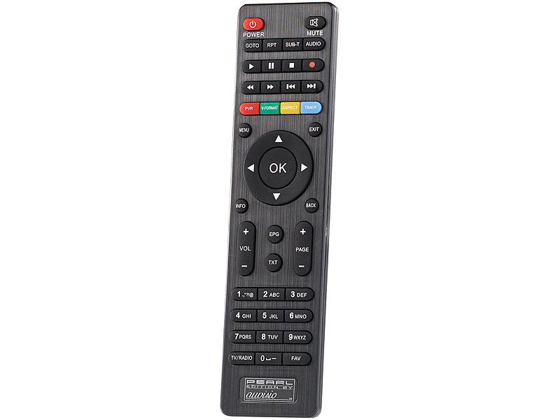 Auvisio Dvb T2 Box Dvb T2 Receiver H265hevc Full Hd Tv Hdmi