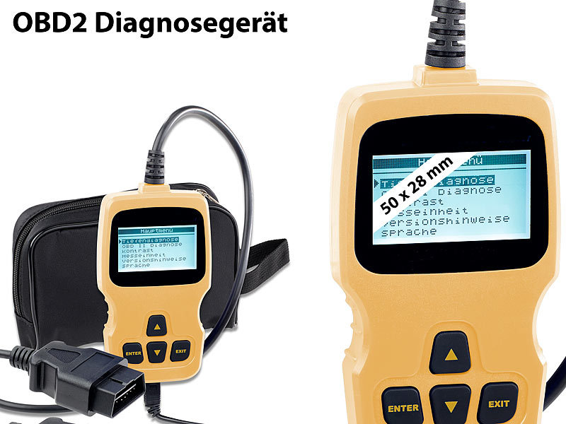 lescars kfz diagnose obd2 diagnoseger t mit xl lcd display f r vw audi skoda und seat kfz. Black Bedroom Furniture Sets. Home Design Ideas