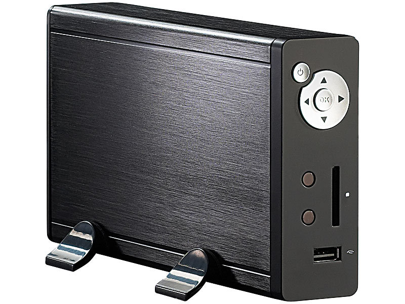 auvisio mediaplayer f r hdd sd usb wiedergabe mit hdmi. Black Bedroom Furniture Sets. Home Design Ideas