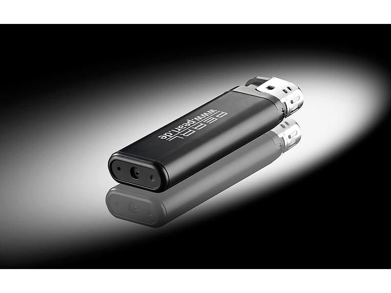 octacam feuerzeug kamera microsd videokamera mc 720 in. Black Bedroom Furniture Sets. Home Design Ideas
