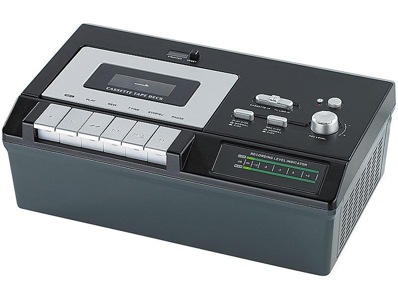 auvisio usb kassetten player ucr 2200 zum abspielen digitalisieren. Black Bedroom Furniture Sets. Home Design Ideas