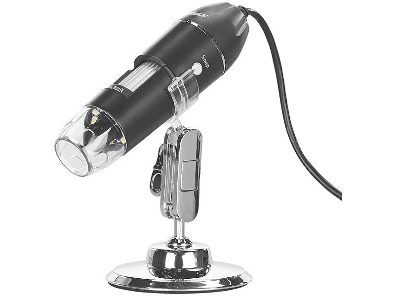 Somikon microscope: digitales usb mikroskop mit kamera & ständer