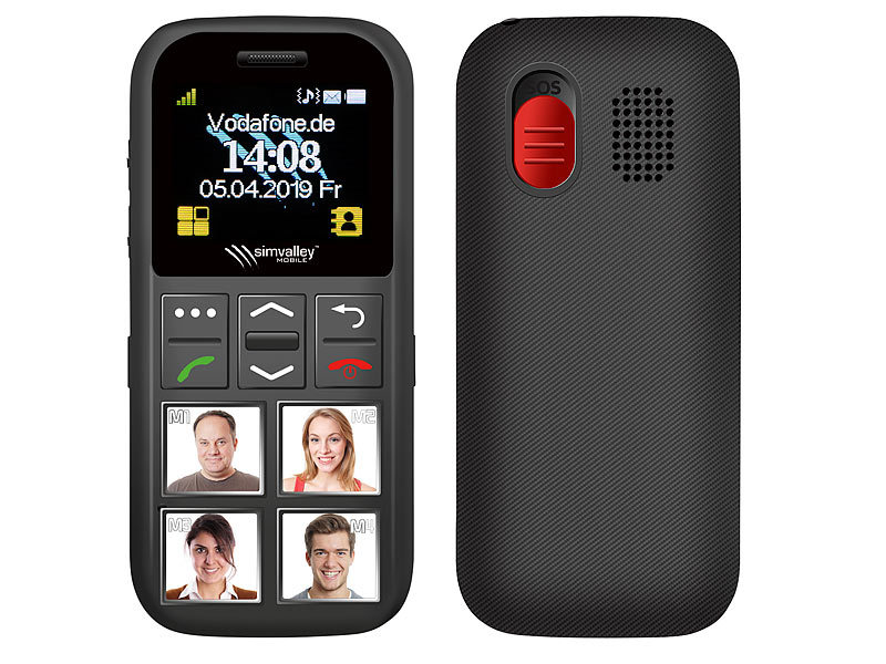 Seniorenhandy mit großen Tasten oder Touch Handy für Senioren?