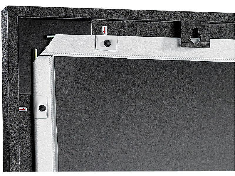 scenelights 16 9 rahmen leinwand f r beamer projektoren bl 60 mit 152 cm bild. Black Bedroom Furniture Sets. Home Design Ideas