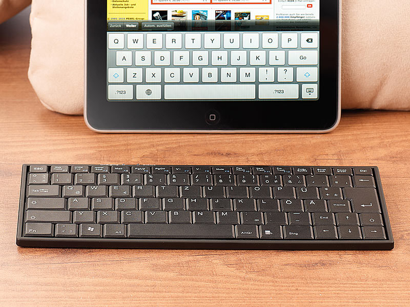 generalkeys mini tastatur f r ipad andere ger te mit. Black Bedroom Furniture Sets. Home Design Ideas