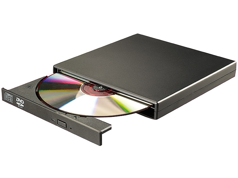 Populära Xystec DVD Laufwerk extern: Externes DVD- & CD-ROM-Laufwerk 8/24x VR-46