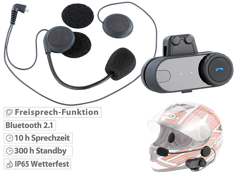 navgear motorrad headset universal headset f r. Black Bedroom Furniture Sets. Home Design Ideas
