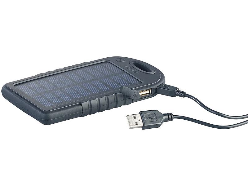 revolt power pack solar powerbank mit mah. Black Bedroom Furniture Sets. Home Design Ideas