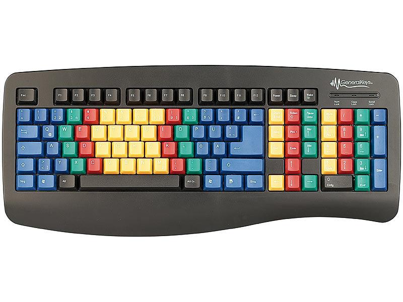 GeneralKeys USB Tastatur \