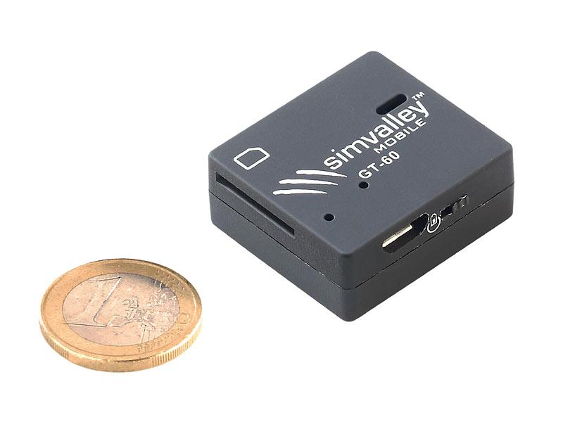 simvalley mobile gsm tracker gt 60 inkl wasserfester tasche. Black Bedroom Furniture Sets. Home Design Ideas